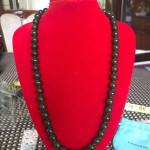 Authentic type a jade necklace